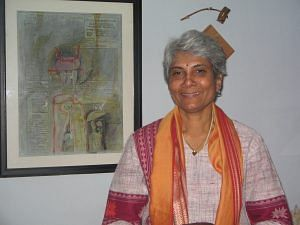 Sunalini Menon, the first lady in India. Picture Courtesy: Wikipedia.