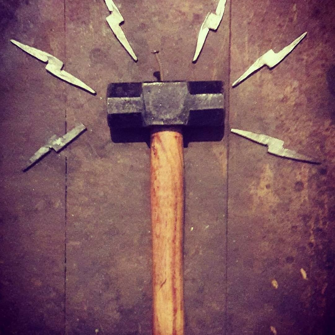 The Adam of all tools, the hammer. Picture Courtesy_ IRONic
