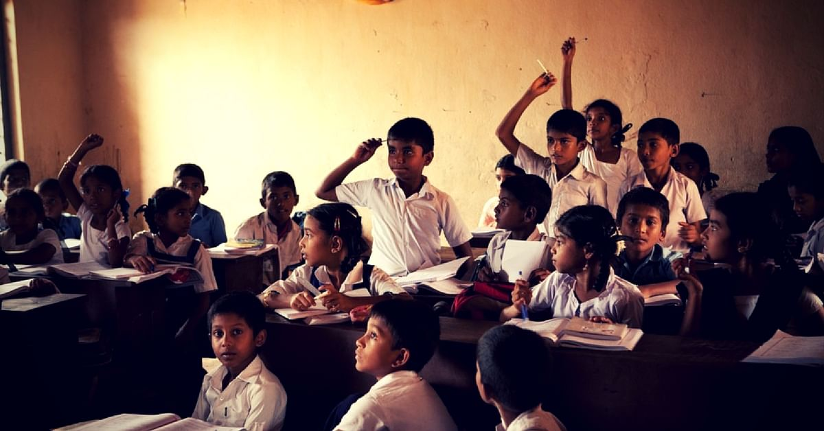 The Government school required funds for repairs.Representative image only. Image Courtesy:MaxPixel