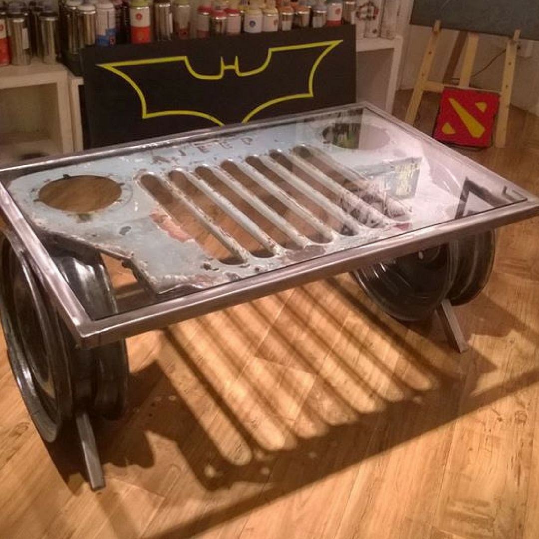The Jeep Table