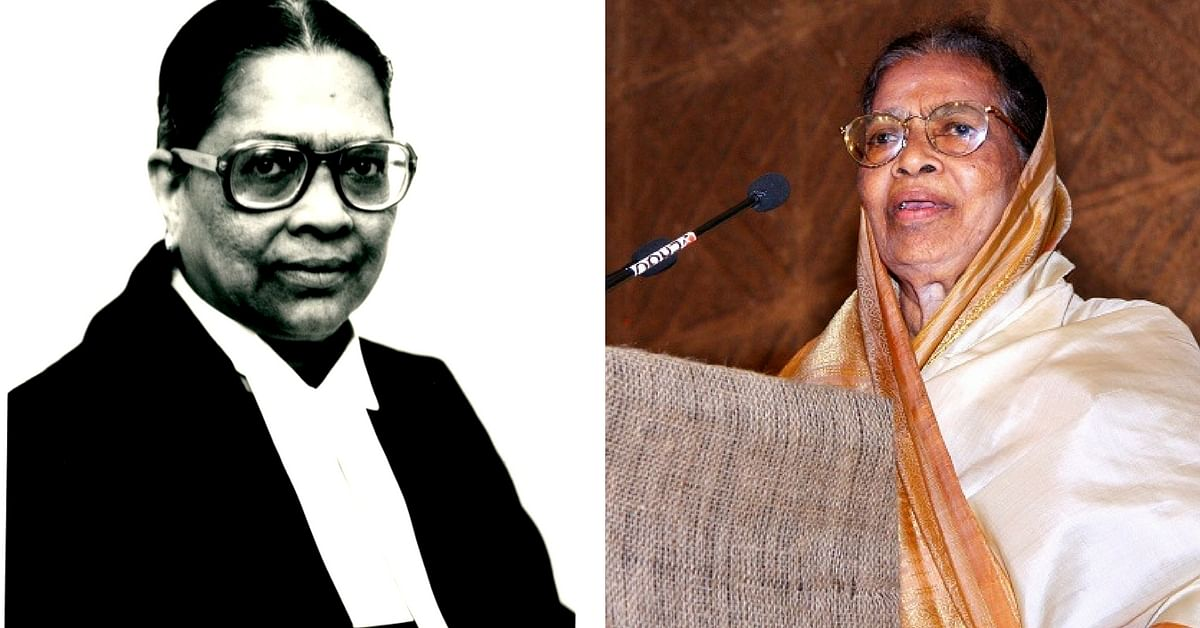 How a Kerala Woman Made History By Becoming India's 1st Female Supreme Court Judge