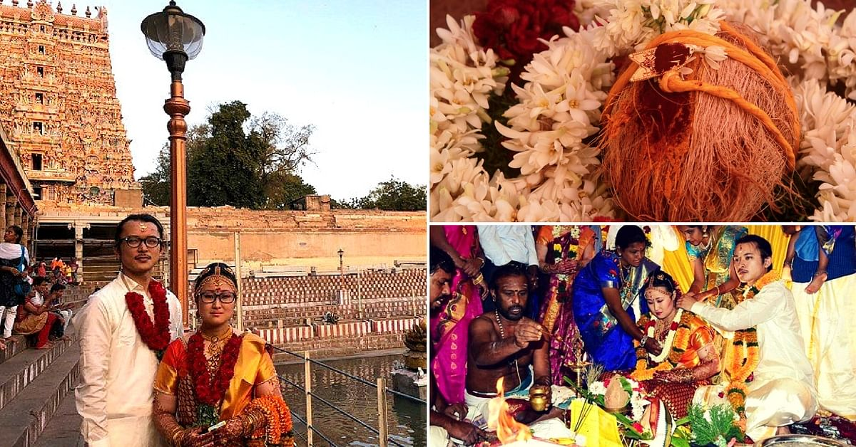 Tamil Wedding With A Japanese Heart; This Couple Travelled 6000 Kms To Get Hitched