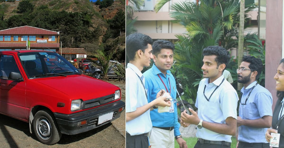 Students Give the Iconic Maruti 800 an 'Electrifying' New Age Makeover
