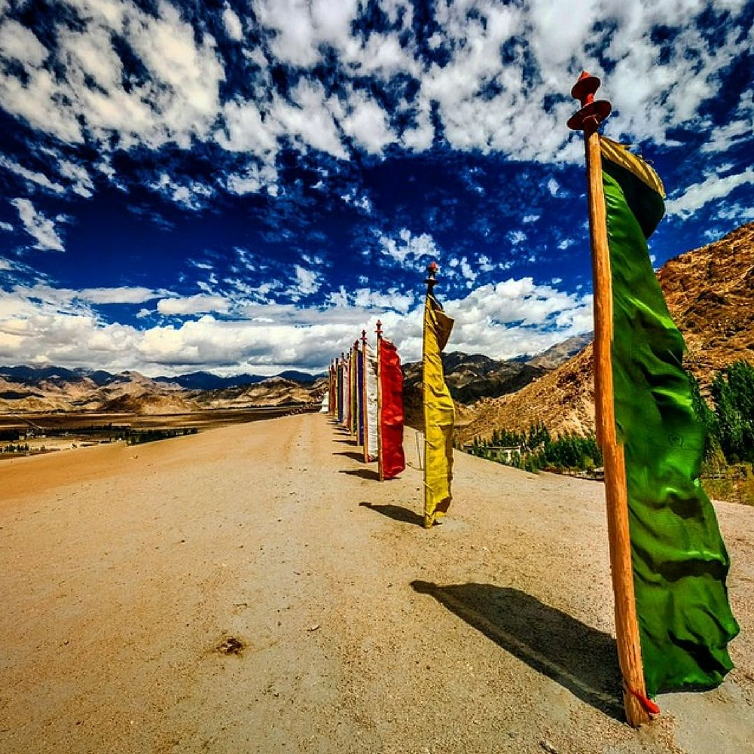 Vital life lessons, on the road less travelled.India. Image Courtesy: Instagram.
