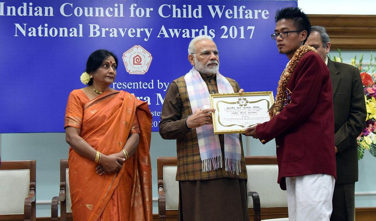 Yoakenei - National Bravery Awards kids