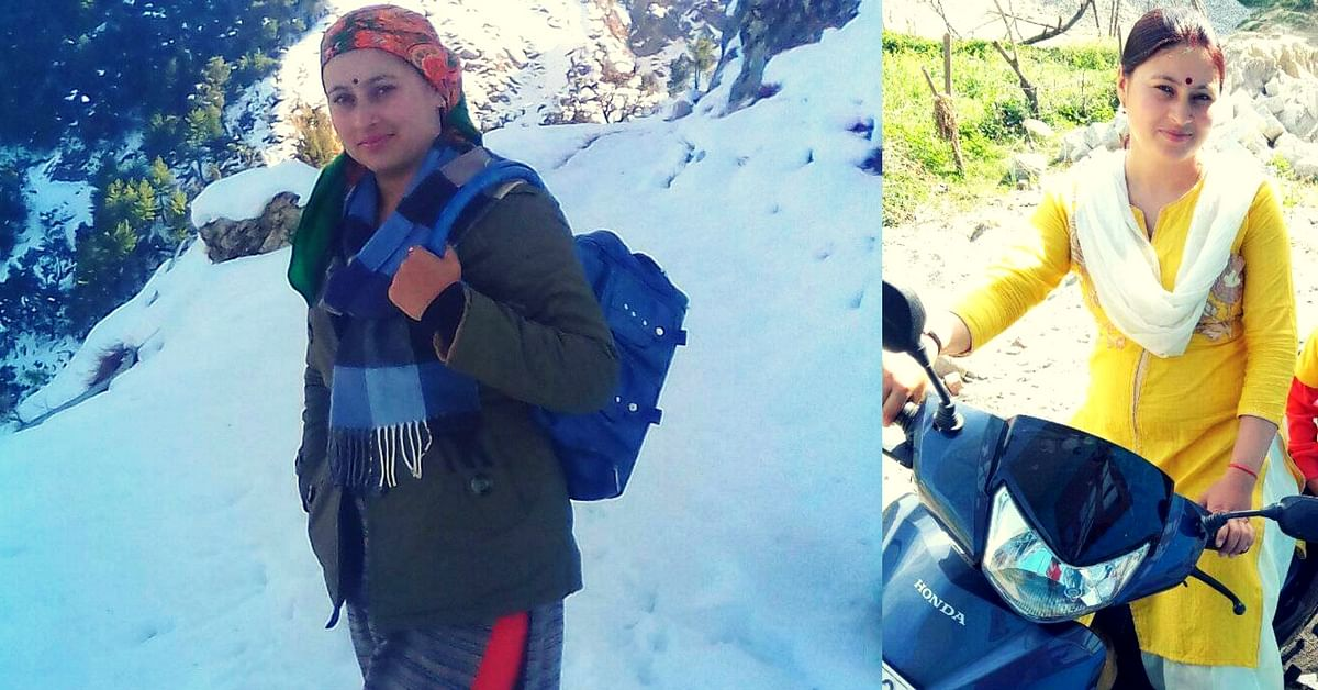 Against All Odds, This Himachali Woman Rode up Mountains to Vaccinate Kids!