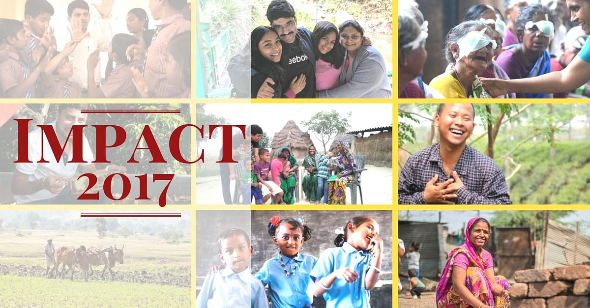 The Amazing Impact We Created in 2017. All Thanks to You!
