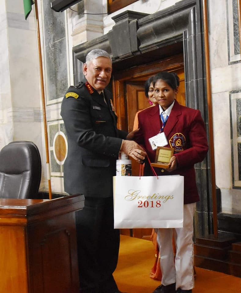 laxmi yadav national bravery award