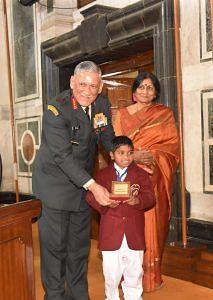 mamata dalai - national bravery award- children