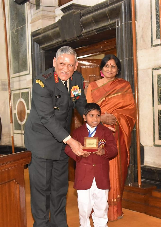 mamata dalai - national bravery award- children