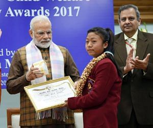mansha National Bravery Awards kids