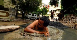 manual scavenging Kerala robots