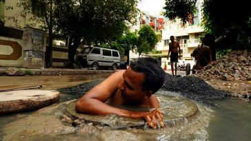 manual scavenging Kerala robots