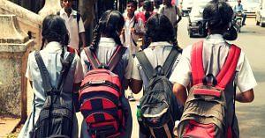 mother daughter Kannada medium school