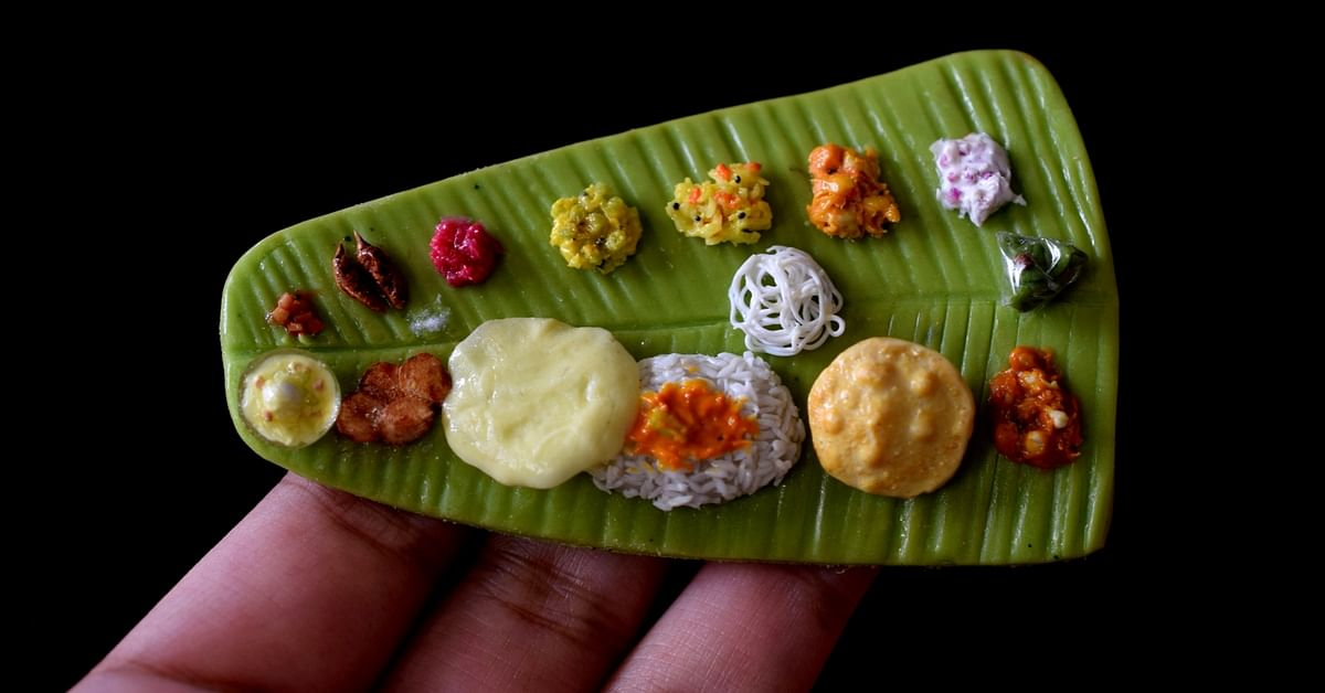 From Biriyani to Appam, This Artist's Miniature Dishes Will Make You Hungry!