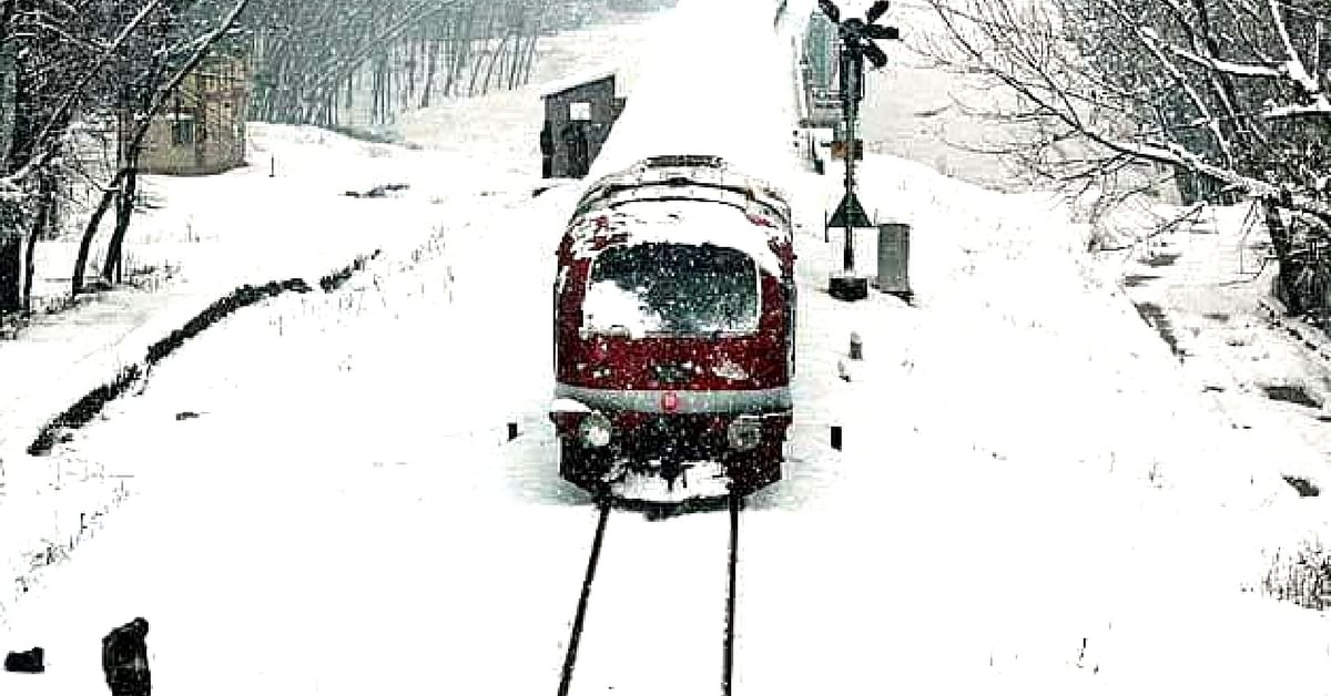 Kashmir Gets All-Weather, Glass-Roof AC Train to Woo Back Tourists!