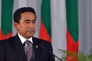 Maldives President Abdulla Yameen (Source: DD News)