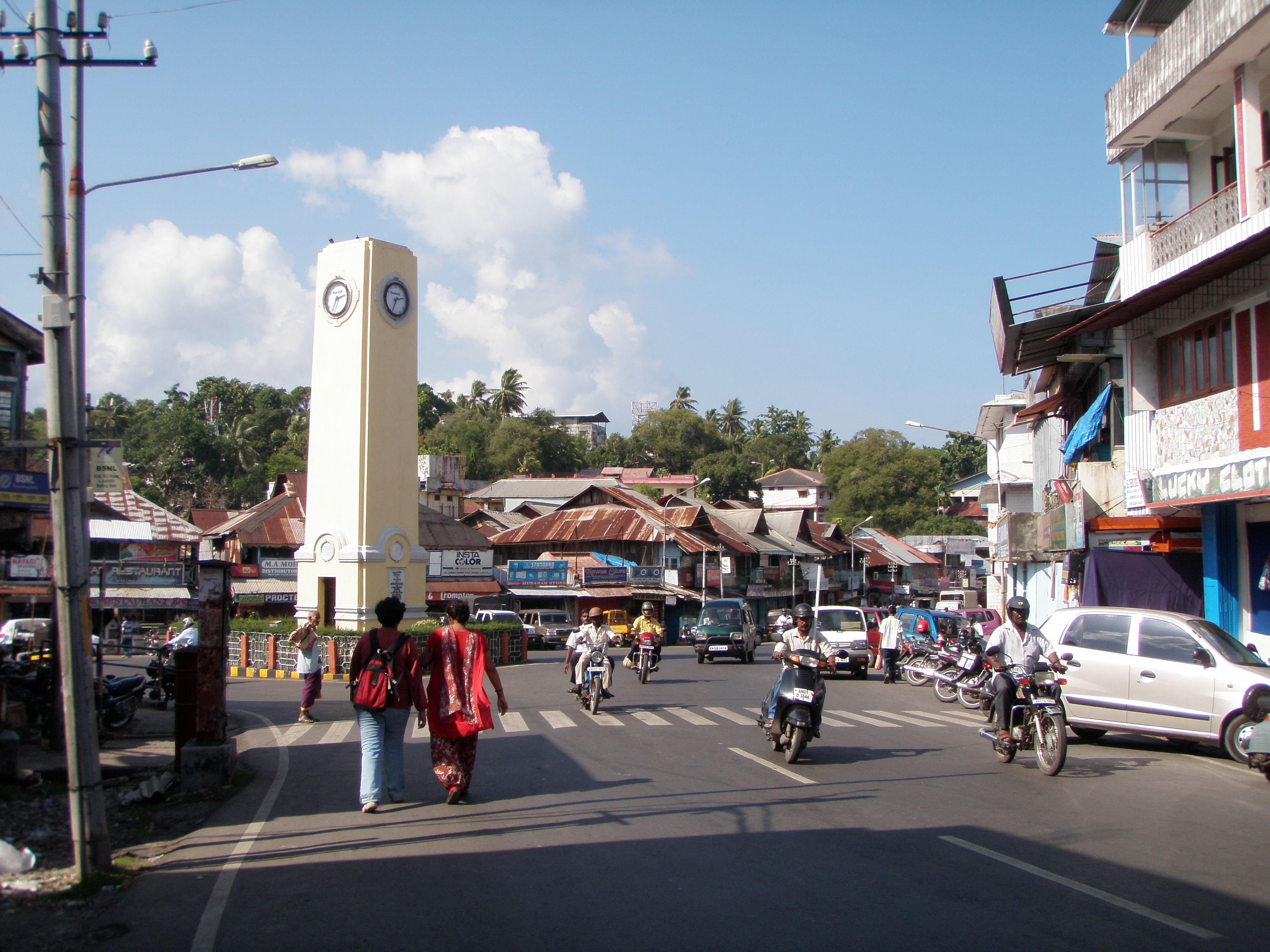 Aberdeen Bazaar, Port Blair. For representational purposes (Source: Wikimedia Commons)