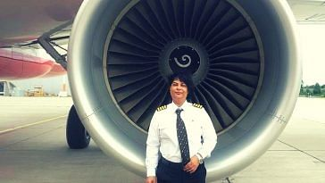Air India woman pilot (1)