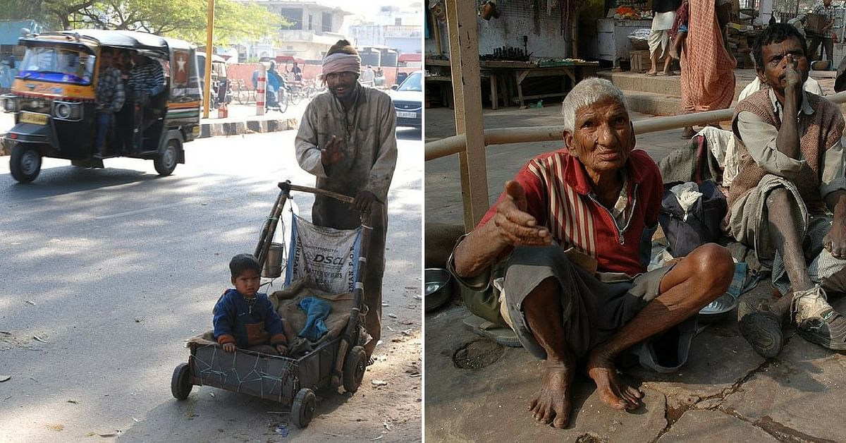 All the beggars need, is some compassion and a helping hand.Representative image only. Image Courtesy: Wikimedia Commons.