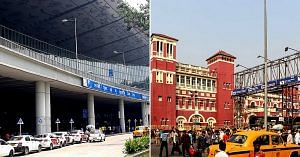 Arrive at the airport, or at Howrah station, beginning your adventure in Kolkata.Representative image only. Image Courtesy: Wikimedia Commons.