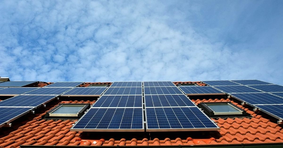 BESCOM wants to determine whether roof tops in the city can be used for harnessing solar power.Representative image only. Image Courtesy: Wikimedia Commons.
