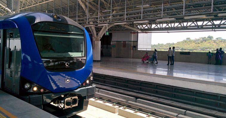 Chennai underground Central Metro station