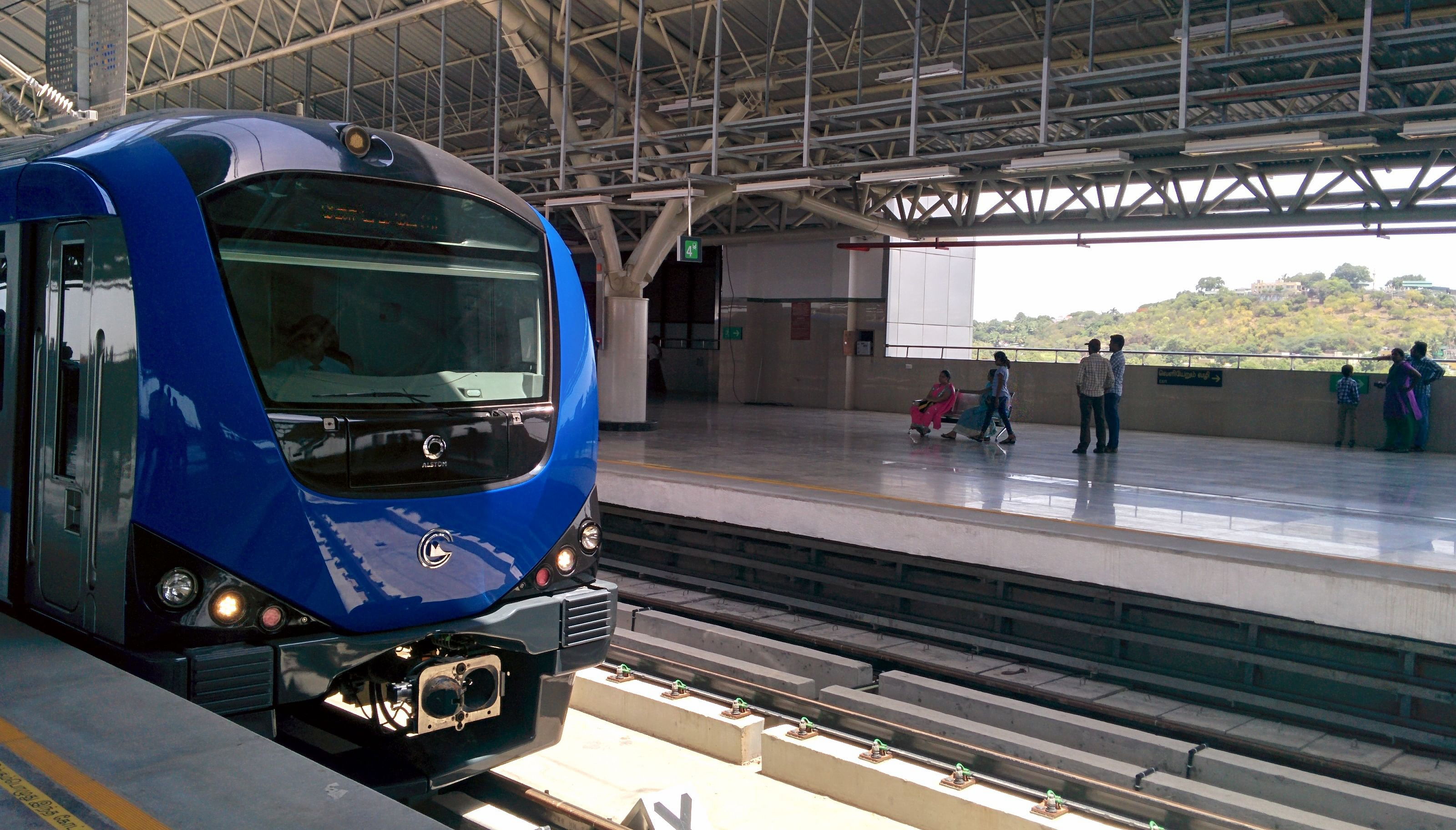 Chennai Central Metro station