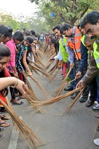 hyderabad sweeping event world record