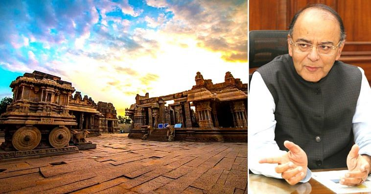 Hampi has been chosen, to be developed as an iconic tourist site.Image Courtesy: Twitter.