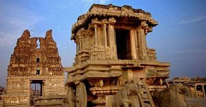 Hampi has been famous for generations, and attracts hordes of visitors, yearly.Image Courtesy: Wikimedia Commons.