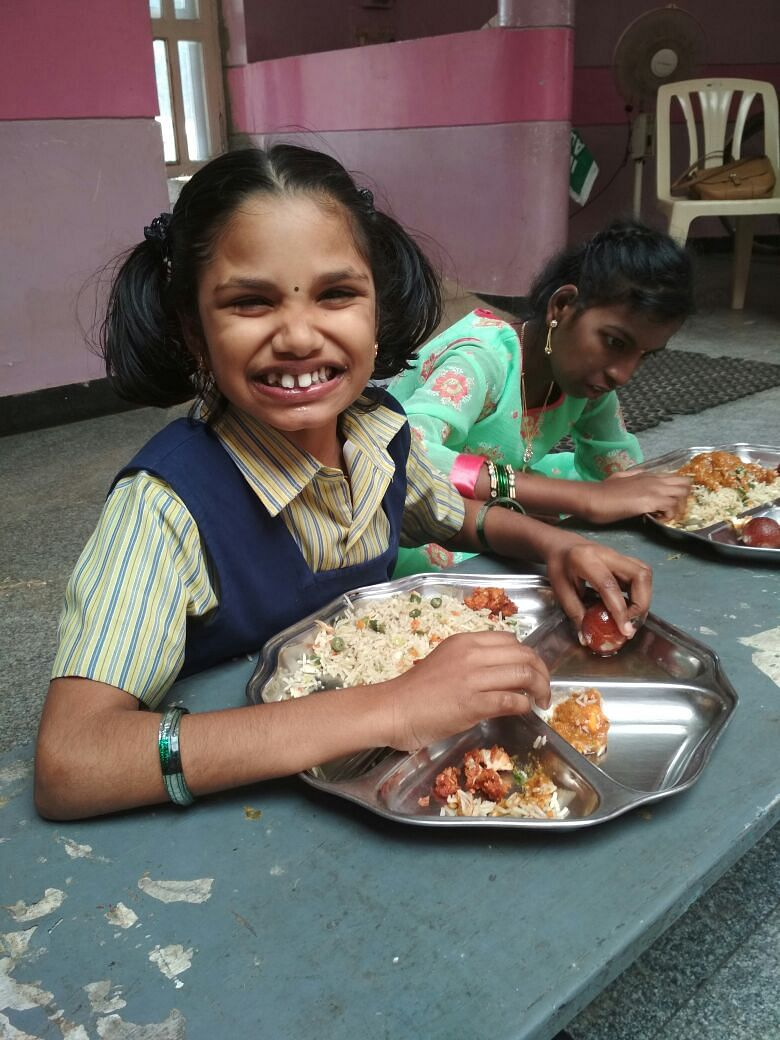 Food served from the KATHIR Dhan programme. For representational purposes only. (Source: Sodexo)