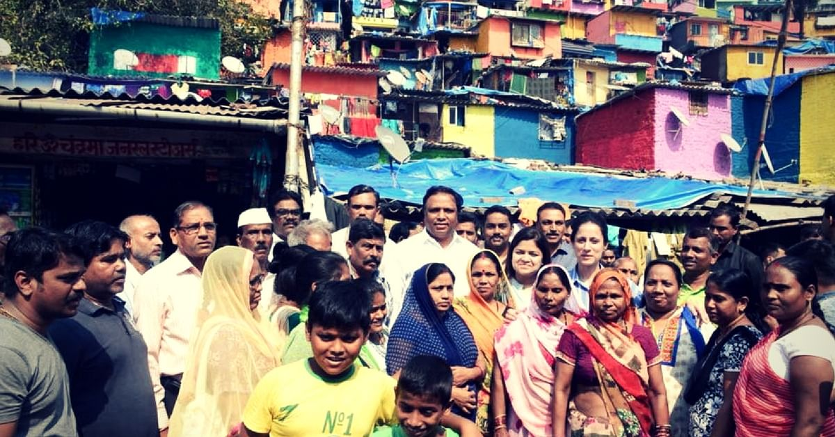 Meeting the inhabitants, Rouble interacted with them for in-depth knowledge on their living conditions.Image Courtesy: Facebook.