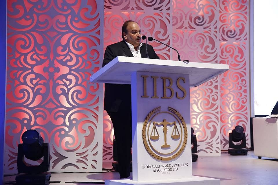 Mehul Choksi (Source: Facebook/India Bullion and Jewellers Association Ltd)