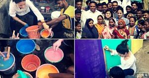 Misaal Mumbai is a project dedicated to spreading smiles in Mumbai's crowded slums