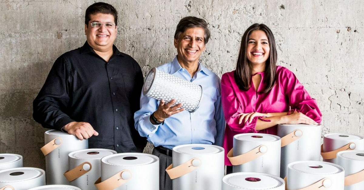 Unable to See His Asthmatic Son Suffer, NRI Invents Toxin-Killing Air Purifier