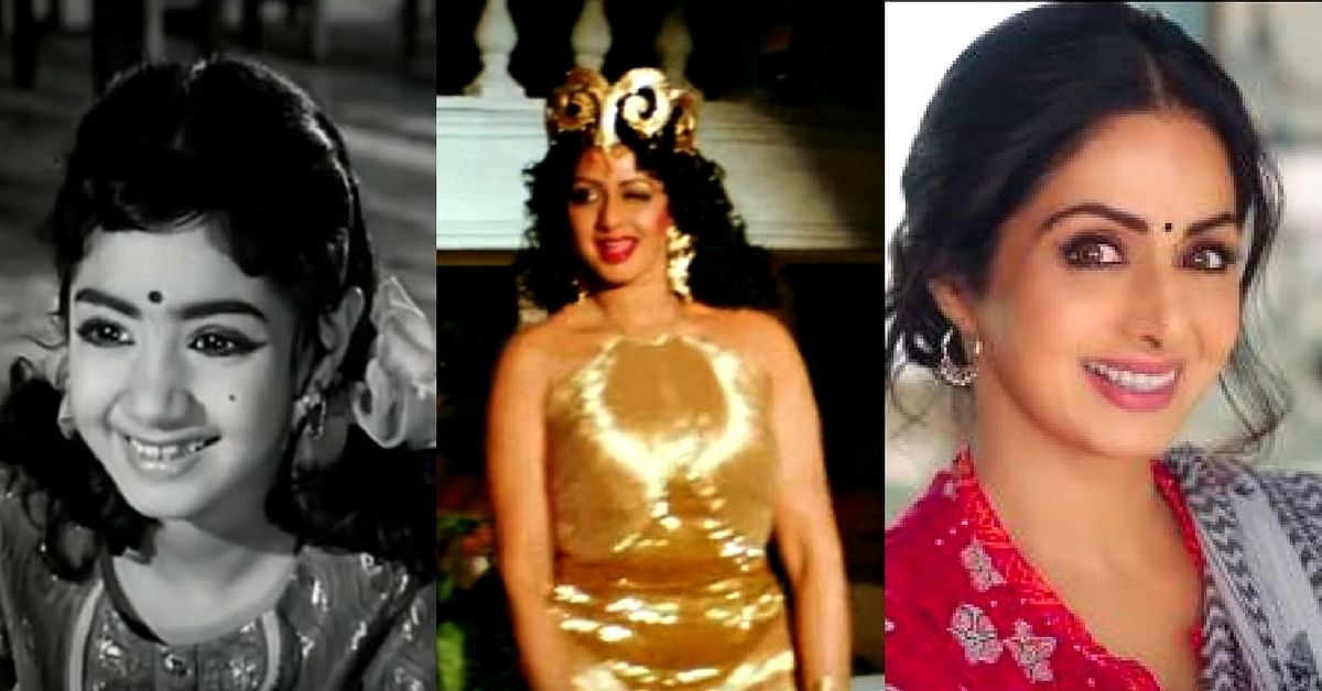 Video: From Child Actor to Supercool Mom, Check out Some Rare Sridevi Moments