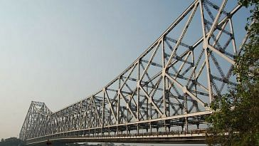 The iconic Howrah Bridge turned 75.Image Courtesy: Wikimedia Commons.
