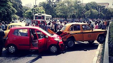 Know what you should do, in case you have a vehicular accident. Representative image only. Image Credit: Wikimedia Commons