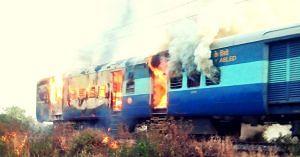 Toofan Express burning alert driver
