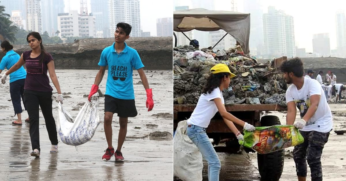 For These Mumbai Students, Cleaning Beaches is The Perfect School Reunion!