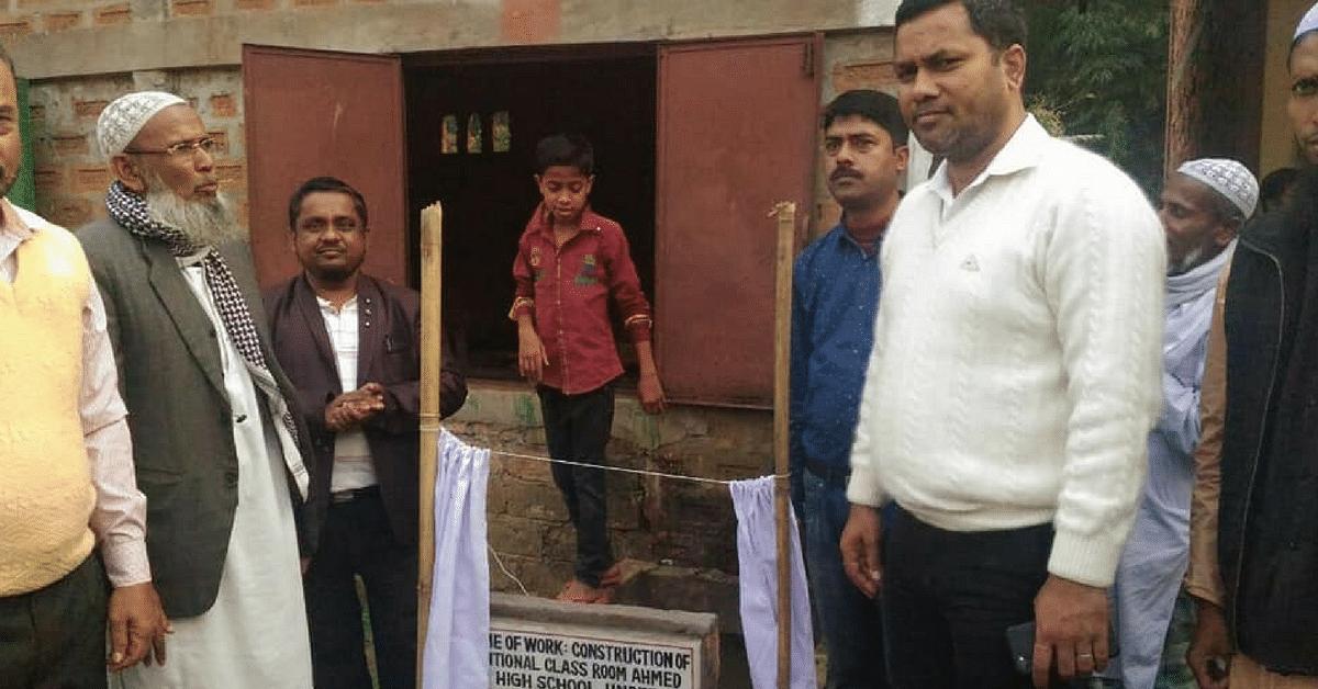 Illiterate Rickshaw Puller From Assam Sets up 9 Schools for Village Children!