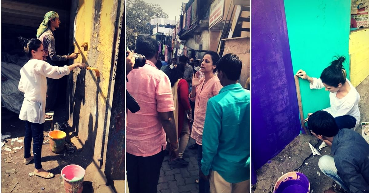 Via Misaal Mumbai, Rouble aims to help slum-dwellers in Mumbai. Image Courtesy: Facebook.