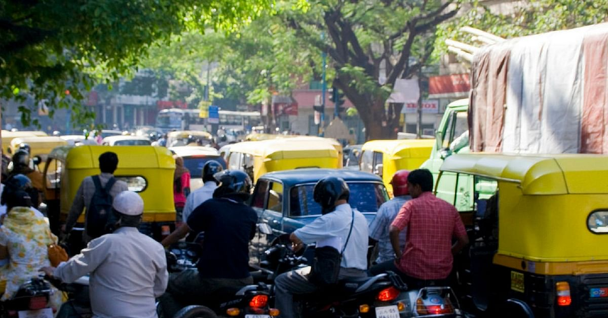 With the density of traffic we have in India, using the phone while driving or riding is a death-wish.Representative image only. Image Courtesy: Flickr.