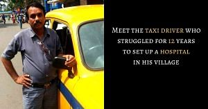 cab driver build a hospital in his village