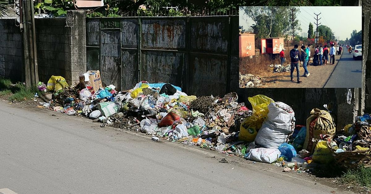 When Authorities Delayed Action, 150 Puneites Cleared Four Truckloads of Garbage Themselves!