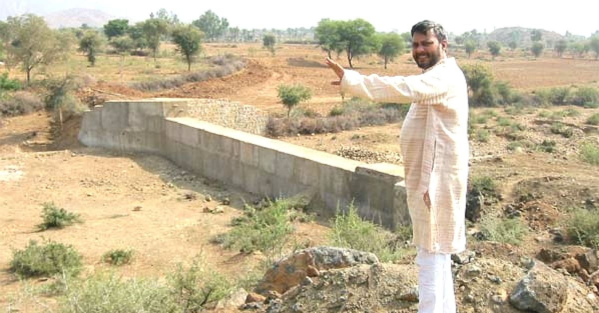 This Man Helped Build Over 8000 Water Tanks in Over 1000 Rajasthan Villages
