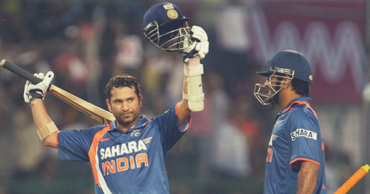 On This Day: Sachin Became The First Batsman in History to Reach ...