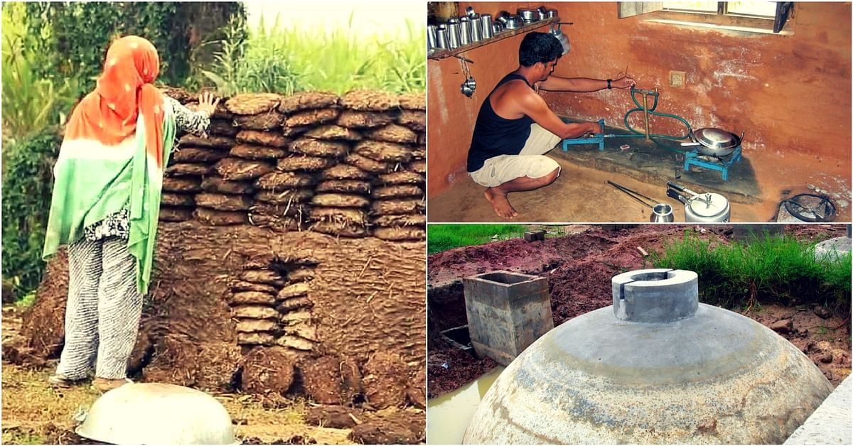 Punjab Village Uses Dung To Deliver Piped Biogas Straight to