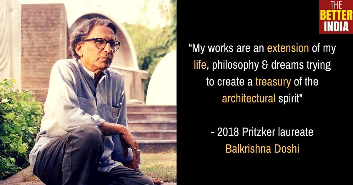 BV Doshi architect Prtizker Prize